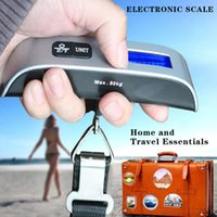 Wholesale Portable Travel Suitcase Bag Weight Electronic Digital LCD Display Luggage Scale Battery Included