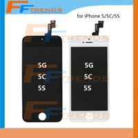 Cheap LCD Display Touch Screen Digitizer Full Assembly for iPhone 5 5S 5C Replacement Repair Parts Free Shipping DHL