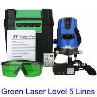 Wholesale KaiTian Laser Level Green with Rotary Slash Function Euro Plug nM Level Lines Points Self Leveling Cross Lazer Level