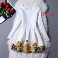 Wholesale 2015 new Fashion Christmas Dress Vintage Design Westernism Print Sexy Tight Side Dresses Women Clothing gold Casual Dresses