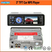 Wholesale NEW Support quot TFT x480P Rear View Car Audio MP5 MP4 Auto Player V Car Video FM Radio AUX USB SD Remote Control JL