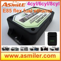 Wholesale e85 conversion kit cyl plastic case Cold Start Asst flex fuel kit ethanol e85 superethanol DHL free price