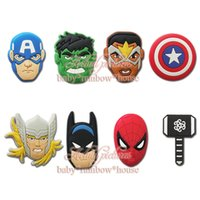 Wholesale 8pcs set Avengers Super Heros Starwars Fridge Magnet Blackboard Sticker School Office Party Supplies student Stationery Kid gift