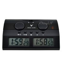 Wholesale Locking Key Design Digital Display Chess Clock Timer Voice Countdown Function for Chinese Chess I GO International Chess X30