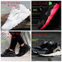 Wholesale Running Shoes Air Huarache Men Shoes With Original Box Many Colors Choice Breathable Sports Shoes Top Quality Shoes