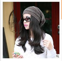 Wholesale Brand Winter Hat Women Beanie Knitted Thickening Casual Caps Hats High Quality For Women Cap R1190