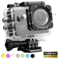 Wholesale SJ4000 Waterproof Sport Sports DV P Full HD High Definition Camera Camcorder Gopro Style P fps M H Inch LCD CAR DVR