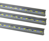 bar counter sale - DHL EMS fast shipping DC12V LED bar light SMD5630 with Aluminum profile for wardrobe light counter light sales promotion