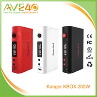 batteries load - Authentic Kanger Kbox W TC Electronic Cigarettes Box Mod Vaporizer batteries Spring Loaded DHL
