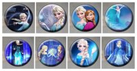 Wholesale 2014 Frozen Cartoon Pin Badge christmas brooches cm Anna Elsa Princess Olaf Costume Cosplay Boys Girls Toy Fashion Badges