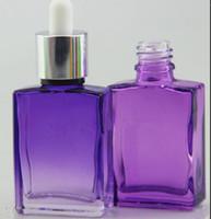 colored glass bottles - colored childproof tamper evident cap ml rectangular square glass dropper bottle glass bottle ml e liquid green purple blue