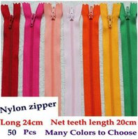 Wholesale Nylon Zipper Length cm Western Style Trousers Wallet Bag Tailor Sewing Tools Craft DIY Zipper