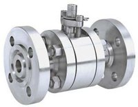forged steel valves - 2PC PC High Pressure flanged Forged Steel Ball Valve