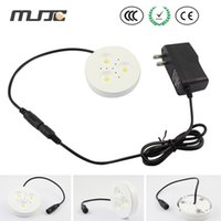 Cheap MJJC Epistar 300LM White LED Downlights LED Under Cabinets Lights 12V DC with Female DC Connector for Kitchen Furniture
