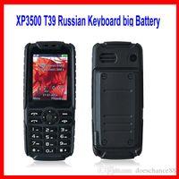 Barato resistente teléfono XP3500 linterna a prueba de choques a prueba de polvo Dual SIM GSM enorme batería 12000mAh Banco de potencia del altavoz ruidoso Descubrimiento Xiaocai X6 V8