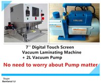Wholesale OCA Vacuum Laminating Machine L Vacuum pump