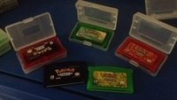 Wholesale DHL can mix order poke GBA games gameboy advance video game card fire red ruby sapphire leaf green emerald