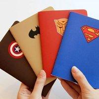 A6 Lindo Kawaii Héroe de dibujos animados Cuaderno de Papel Precioso Diario Libro forrado con Papel para Niños de corea Papelería envío Gratis 325