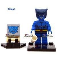 beast x men - Single sale Shen Yuan Marvel X man Beast super hero Minifigures Collection TOYS GIFT Building Block Best Children Gift Toy