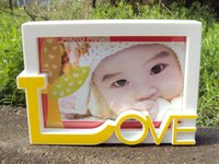 Wholesale The new LOVE photo frame Baby Photo Frame wedding picture modern design and Stereo feeling