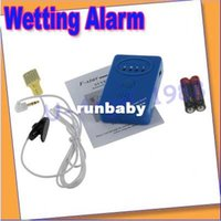 FL1728 Wet Reminder OEM Free shipping+Adult Baby Bedwetting Enuresis Urine Bed Wetting Alarm +Sensor With Clamp