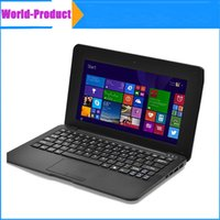 Wholesale 10 t Mini Notebook TN mini Netbook Quad core GHz ARM Cortex A9 Camera Wifi Bluetooth laptop