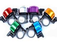Cheap Fedex DHL Free Shipping Cheap Metal Ring Handlebar Bell Sound For Bike Bicycle 7 colors ,500pcs lot
