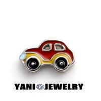 photo glass - 20pcs Photo DIY charms Different Style Car Floating Alloy Charms for Memory Glass Living locket Fine Jewelry