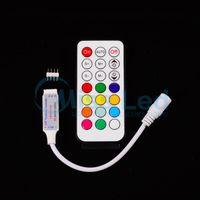 Wholesale New DC12v RF key led pixel remote controller for strip WS2811 TM1804 TM1809 INK1003 ICS1903 pixels controlled rf control