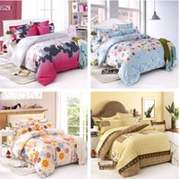 bedspread sales - On Sale Bedding set King Size Bedding Set Bed Sheets Duvet Cover Bedclothes Colcha De Cama Bedspread No Cotton Comforter