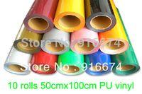 Wholesale Fast DISCOUNT pieces quot x3 x100cm heat transfer PU vinyl heat press cutting plotter