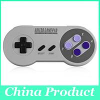 8BITDO SNES30 Controlador inalámbrico de Bluetooth Gamepad Classic inalambrico para para iOS Android Windows Mac Joystick Gamepad PC NUEVO 010110
