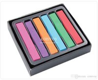 Wholesale Masters Pastel Easy Temporary Colors Set Fashion Hot Fast Non toxic Pastel Hair care Dye Color ChalkPastel Stick Chalk DIY Hair Color HS01