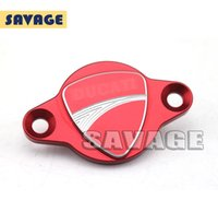 alternator cover - For DUCATI MONSTER S S Motorcycle Accessories Alternator Cap Cover Red