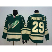 american apparel quality - Cheap Hockey Jerseys Wild Jason Pominville Green American Hockey Apparel High Quality New Arrival Hockey Shirt Mens Sports Jerseys