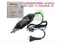 Wholesale New Dremel Mini mill Grinding Polishing Machine Engraving Pen Electric Drill DIY Dirlls free ship Free track number