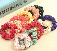 Wholesale 100pcs set Cute Sweet Girl Elastic Hair Band Ponytail Holder Accessories Headwear