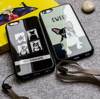 apple puppy - Silicone TPU mirror surface phone Case I Love My Papillon dog puppies fashion original iphone6 cover case for iphone s iphone plus