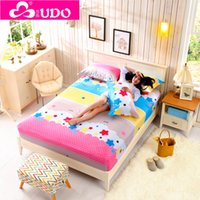 Wholesale YouDuo Flat Sheet sabanas Bed sheet Bedsheet Cotton bed sheets Colored Mattress Cover drap housse Cotton High Quality Fabric