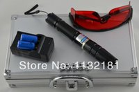 Wholesale high power mw w nm blue laser pointer in1 strong laser can focus burning match wood paper