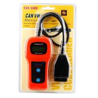 achat en gros de outil de réinitialisation de balayage audi-AIRBAG ABS Reset Tool U281 OBD2 code EOBD lecteur de voiture Scan Engine outil de diagnostic CAN-BUS Scanner de diagnostic pour Audi VW