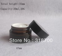 glass bottles cosmetic packaging - g amber glass jar cc amber cream bottle glass container cosmetic packaging