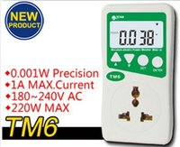 ac power analyzer - High precision TM6 Wanf WATT Electricity Power Energy Watt Voltage Meter Ammeter Monitor AC Voltage Version Analyzer V A