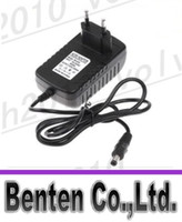 Wholesale Freeshipping AC V V to DC V A mm x mm Plug Converter Wall Charger Power Supply Adapter EU US UK plug LLFA2055F