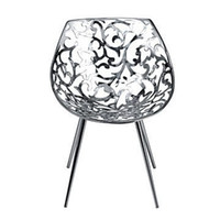 best designer furniture - Best popular furniture famous designer leisure chair silvery the Driade Miss Lacy Chair