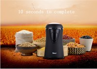 Wholesale 2016 Fashion most durable stainless steel paint multifunction electric household coffee grinder