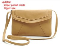 Wholesale New Vintage Womens PU Leather Envelope Satchel Sling Purse Tote Bags For Women Cross Body Shoulder Handbags