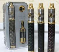 Cheap Vision Spinner 3 III kit 1600mAh Carbon battery e cigs cigarettes MOD kit variable voltage 3.3v-4.8v protank 2 atomizer vapors
