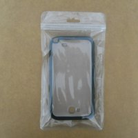 plastic zip lock bag - Ziplock Clear Plastic Cell Phone Case Packaging Bag Retail iPhone Cover Packing Bags Hang Hole Zipper Zip Lock Phone Accessories Pouches