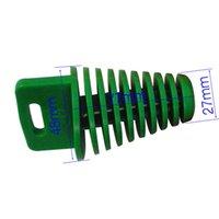 Wholesale Small Green ZXTD EXHAUST PIPE MUFFLER WASH PLUG CR KX RM YZ KTM MOTORBIKE